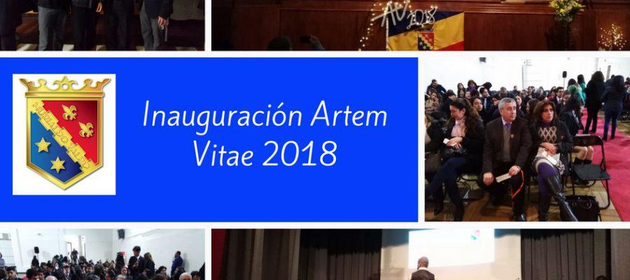 """INICIO DE LA 4ª VERSIÓN DE """"ARTEM VITAE"""""""