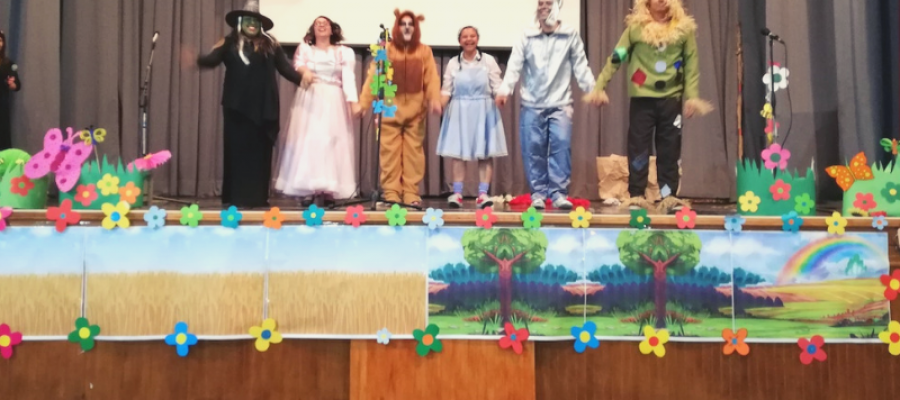"""Los más pequeños disfrutaron del """"Mago de Oz"""""""