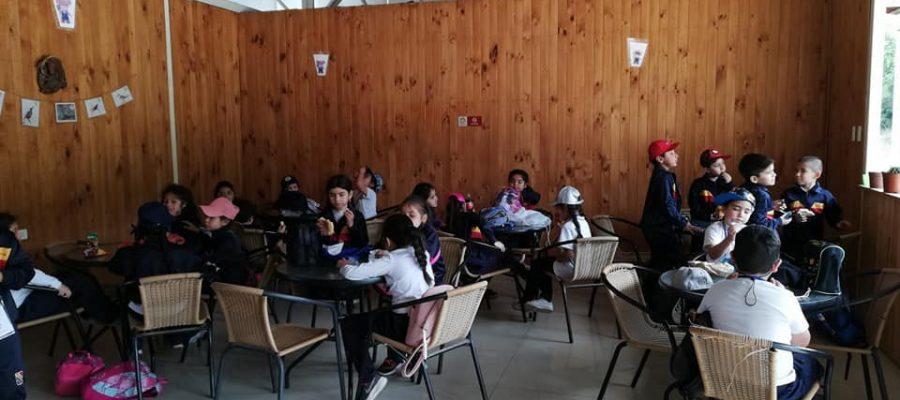 Primeros básicos visitan granja educativa