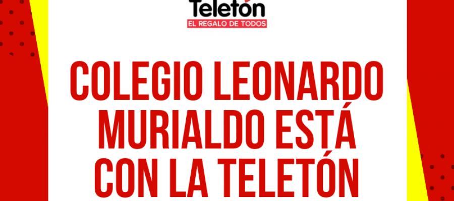 Colegio Leonardo Murialdo está con la Teletón