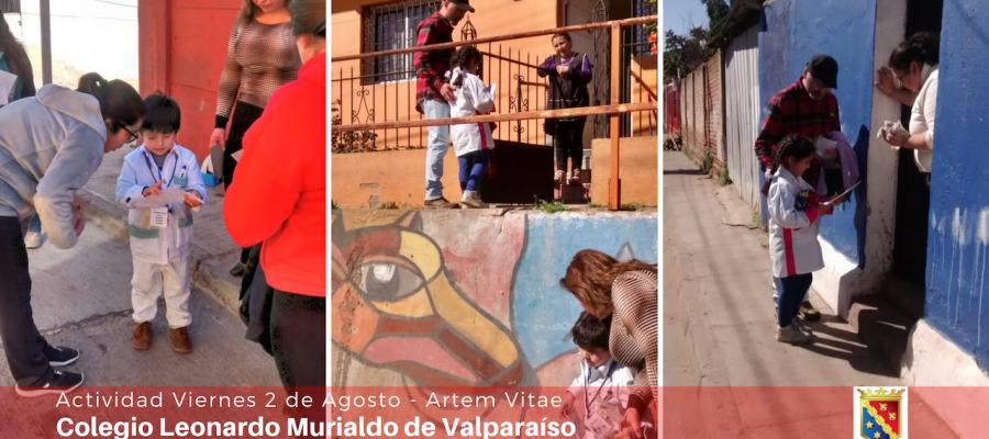 Artem Vitae: Niños del Jardín en operativo por las mascotas