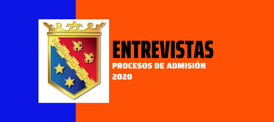 Información Proceso de Admisión 2020