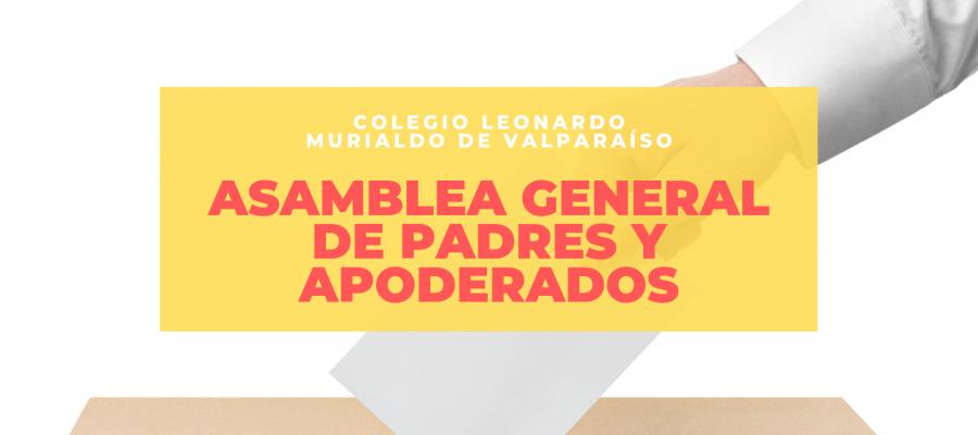 Elecciones Centro de Padres: Asamblea General de Padres y Apoderados
