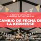 Actualización de fecha: Kermesse