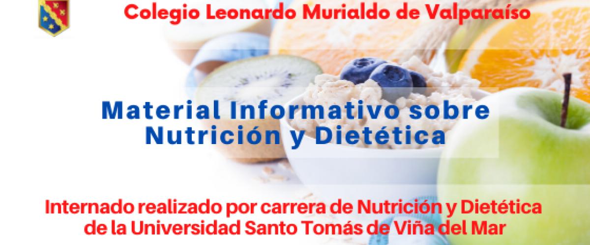 Material Informativo de Nutrición y Dietética