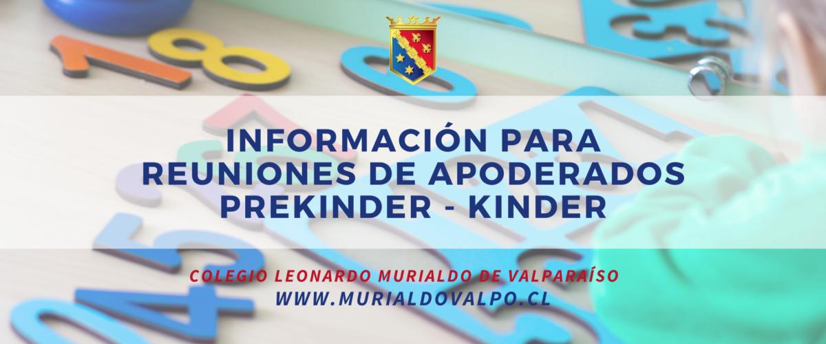 Información para los Padres y Apoderados de Educación Parvularia