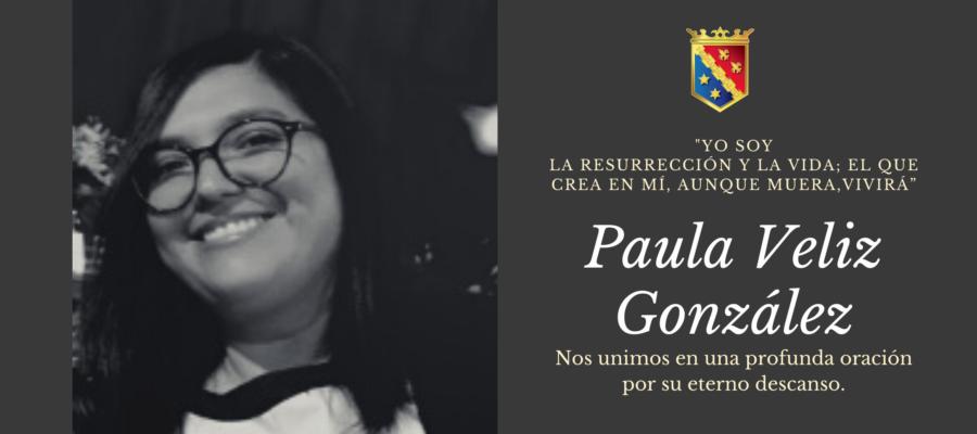 Noticia de Familia: Comunicamos el fallecimiento de Paula Veliz