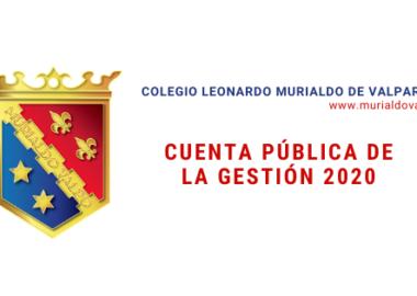 Cuenta Pública: Gestión 2020